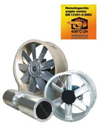 ventiladores especiales2 - Ventiladores versión desenfumage