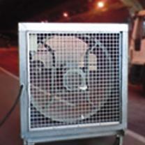 Ventilación para tuneles