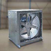 Cajas ventilación insonorizadas